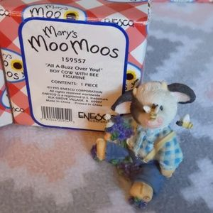 Mary's Moo Moos Accents - Set of 2 Mary's Moo Moos with their boxes